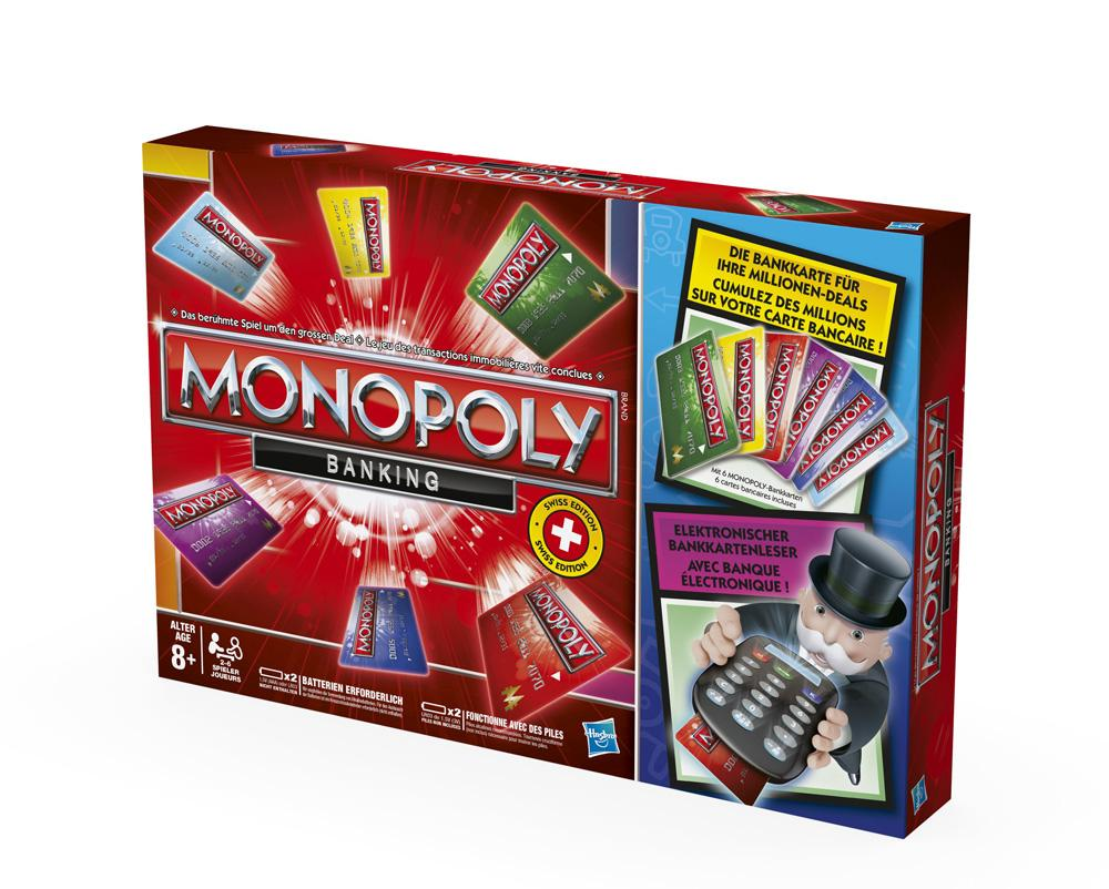 instructions for monopoly electronic banking edition